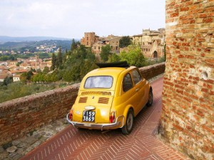self drive in italy